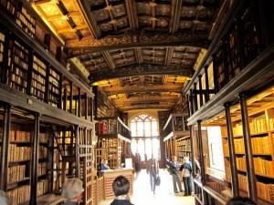 Bodleian inside