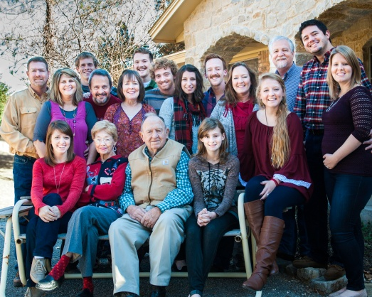 Thanksgiving was with my Mom's side of the family.  I love this picture!